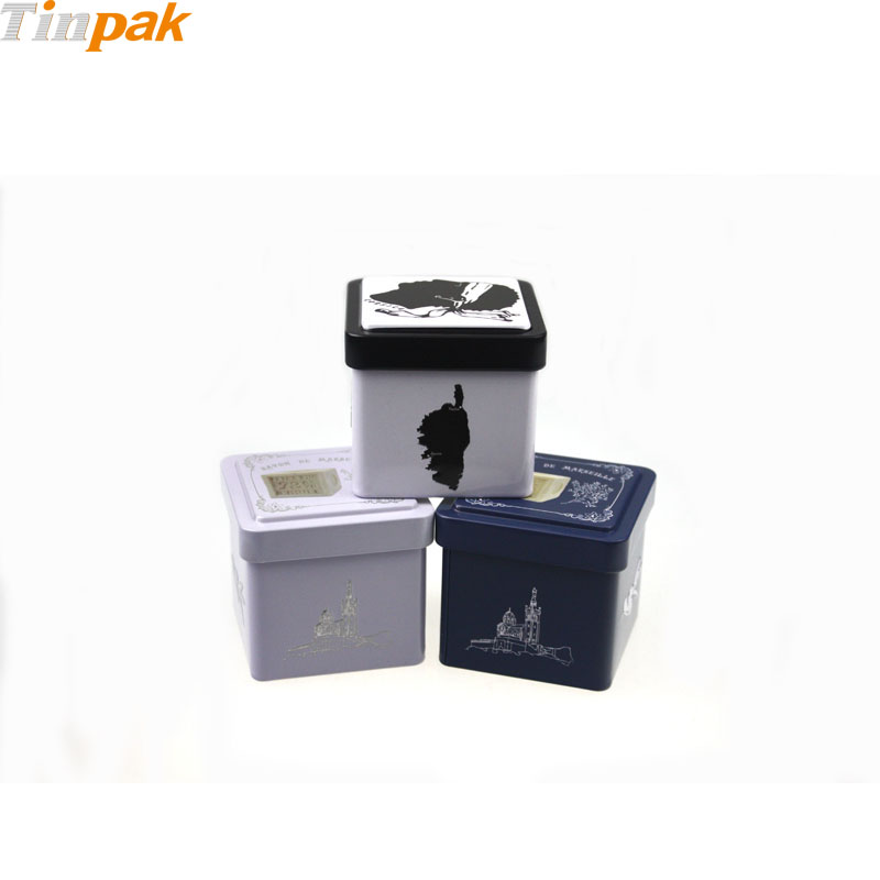 hot sale square soap tins factory