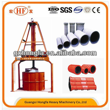 new hdpe pe product in china HF concrete drainage pipe making machine