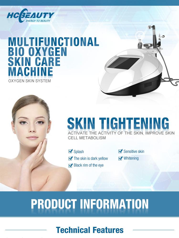 GL3 skin lifting beauty treatment portable oxygen machine