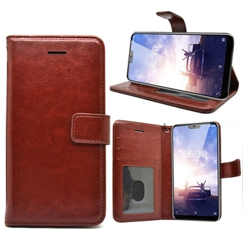 new york fe32f 3409f Luxury Wallet Case For Nokia X6 Leather Case For Nokia 6.1 Plus Cover - Buy  Wallet Leather Case For Nokia 6.1 Plus Smart Cover,Leather Wallet Case For  ...