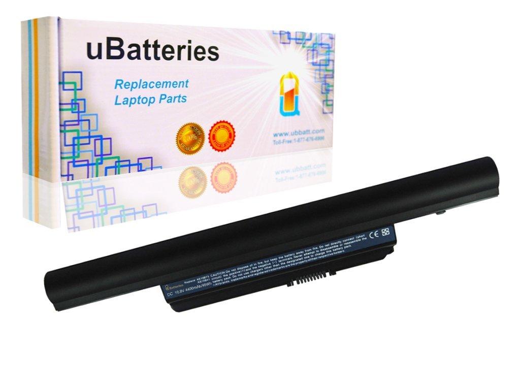 UBatteries Laptop Battery Acer AS10B75 - 6 Cell, 4400mAh