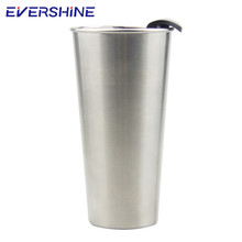 High grade eco friendly insulated skinny 450ml mug stainless steel tumbler