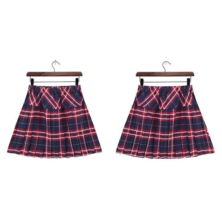 Wholesale Japanese School Uniform Red Pleated Plaid Skirt, View Japanese  School Uniform Skirt, Paton Product Details from Guangzhou Paton Apparel  Co ,