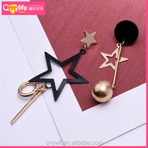 Factory Direct Korean Style Fashion Unique Star Earring Hair Accessories