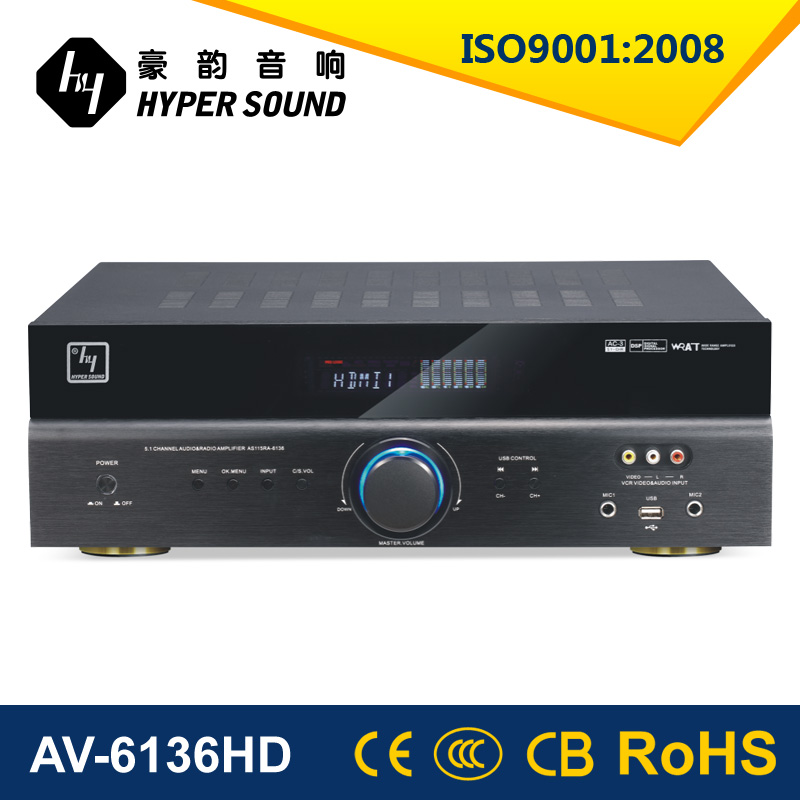 5.1 Channel Home Theater Amplifier With Hdmi Optical Coaxial ...