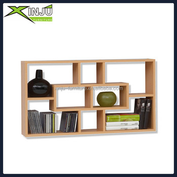 Wood Wall Display Collection Shelves
