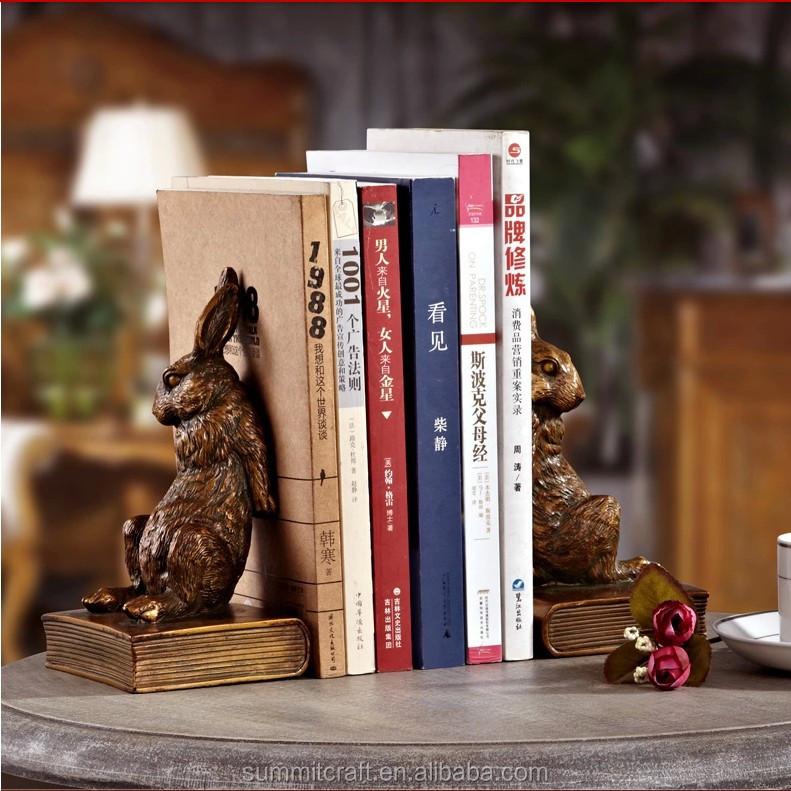 Decorative Collectibles Book Stands, Holders 1 Pair Bookend Frame Creative Bookends Frame Creative Organized For Library Home Quality And Quantity Assured