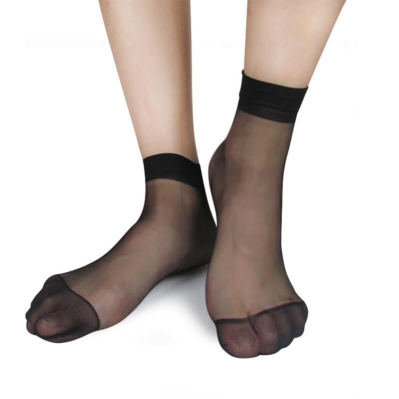 Compra calcetines de seda de las mujeres online al por
