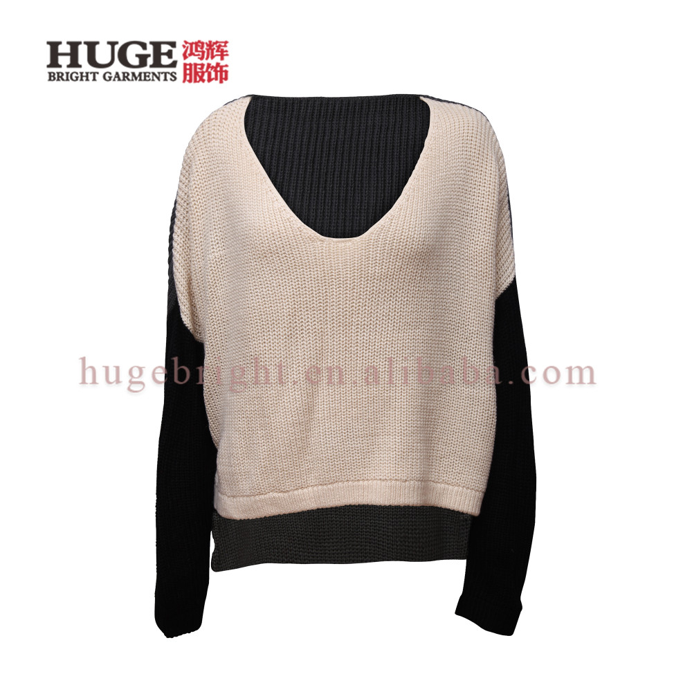China Factory Custom Personalized Womens Knit Sweaters