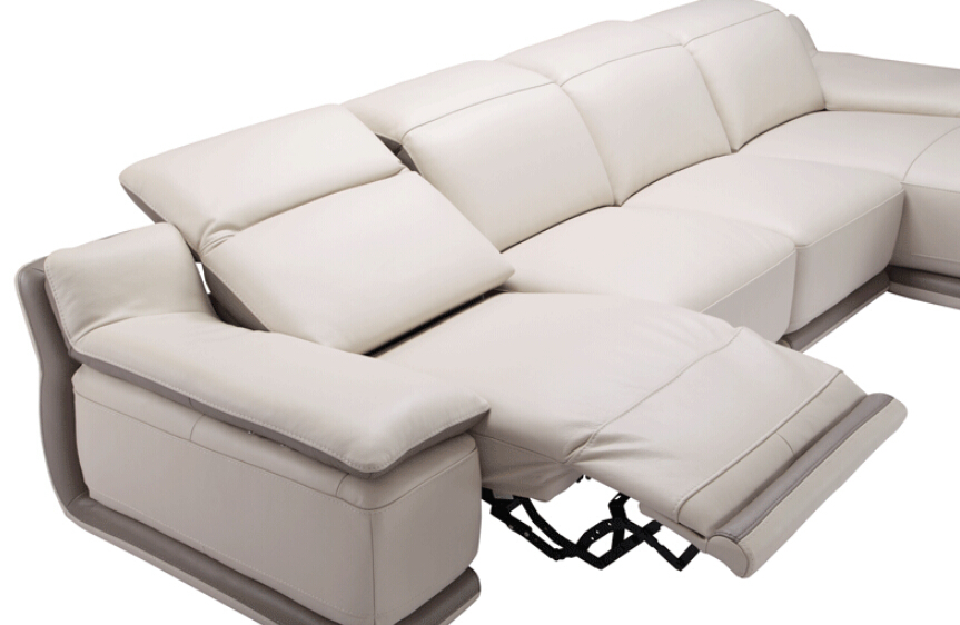 Modern Lazy Boy Recliner Sofa Slipcovers With Headrest Legrest Corner Sofa  Set