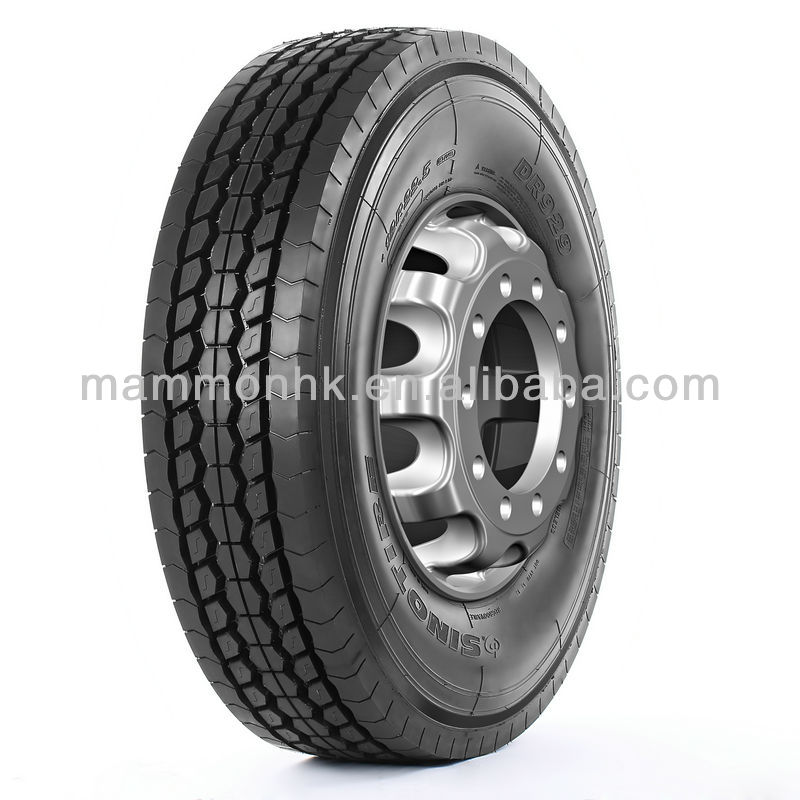 Double Happiness Basoon 11R22.5 Chinese Heavy Duty TBR steel Truck tire