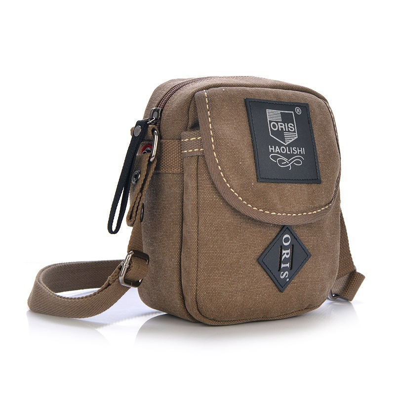 Vintage Men and Women Canvas Messenger Bag Fashion Small Sports Shoulder Bag For Couples Free shipping