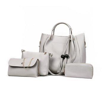 Ladies Hand Bag 4 In 1 Set Bag Handbag From Alibaba Online Shopping