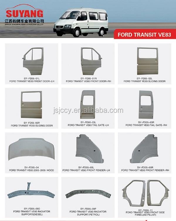 Auto Rear Bumper Bracket For Ford Transit Ve83