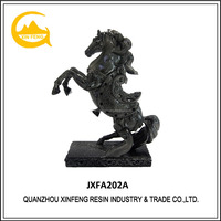 2017 New Color Desktop Resin Horse Statue Animal Statue