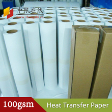 heat sublimation transfer paper with sublimation ink used for inkjet printer on fabric garment textile cloth