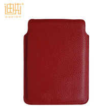 Fashion style shockproof velvet inner soft pu leather laptop cover notebook sleeve