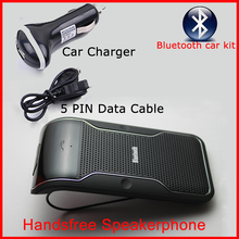 Bluetooth car kit Handsfree carkit  Auto sun visor wireless bluetooth speaker for iPhone etc.. telephone