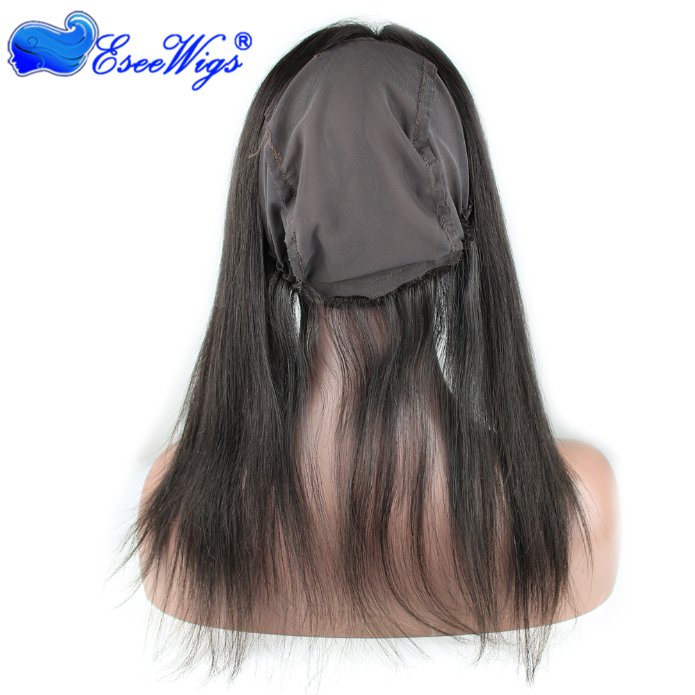 2016New Style 8A Grade 360 Lace Band 22X4inch With Stretch Cap 13X4 13x6 Lace Frontals Closure Brazilian Virgin Hair Straight
