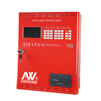 type Intelligent Smoke Detection Addressable Control Panel Fire Alarm System with Keyboard