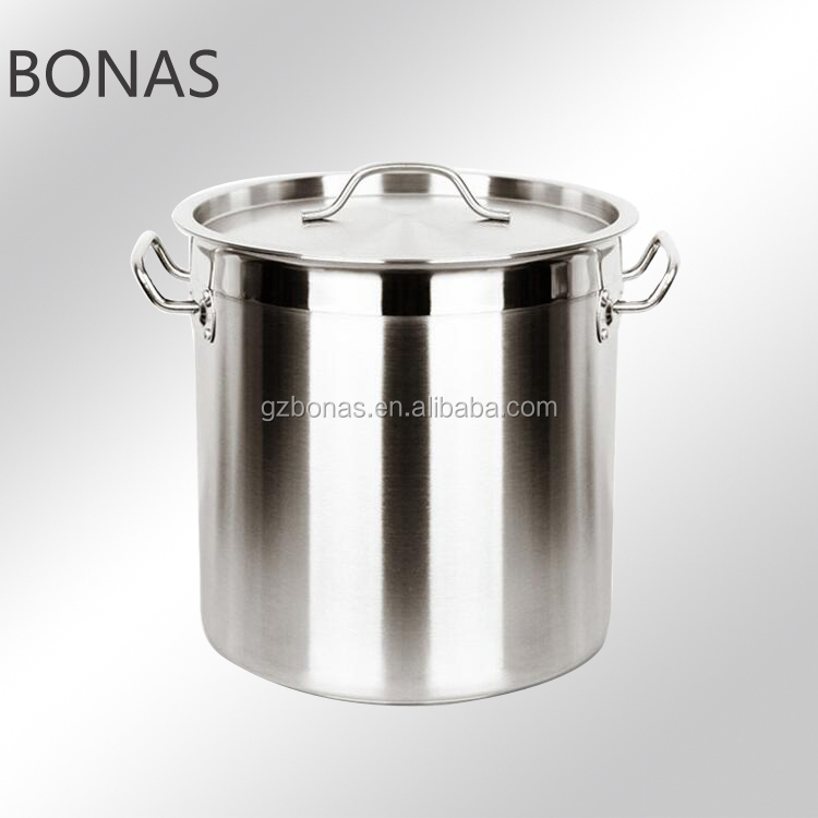 Stainless steel thick bottom pot, 200l stainless steel pot, brewing pot