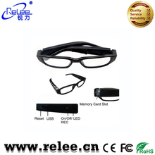 Shenzhen factory price sunglasses camera Security Eyewear Cam HD glasses DVR Video Recorder