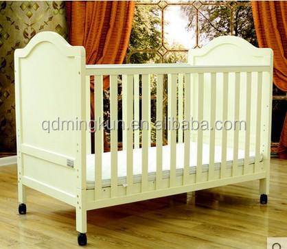 Wooden Cot Bed Convenience Goods Nursery Decoration & Furniture