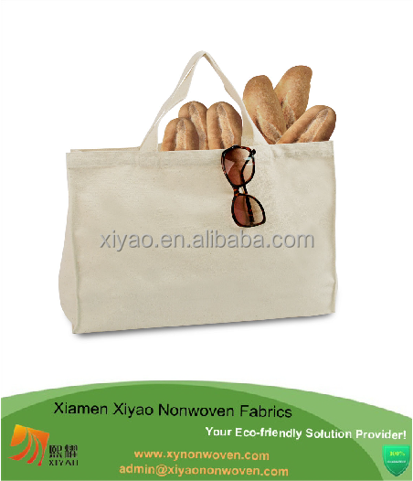Promotional Grocery Cotton Bread Bag Handle Shopper Cotton Bag ...