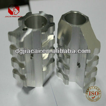 cnc aluminum bearing housing