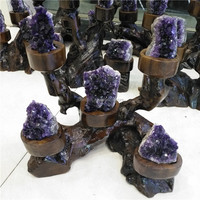 Amethyst Geodes Trees for Home Decor Natural Crystal Quartz Home Decor
