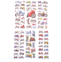 Bubble Puffy Stickers Factory Direct Sales Motorcycle Motorbike Auto Sticker