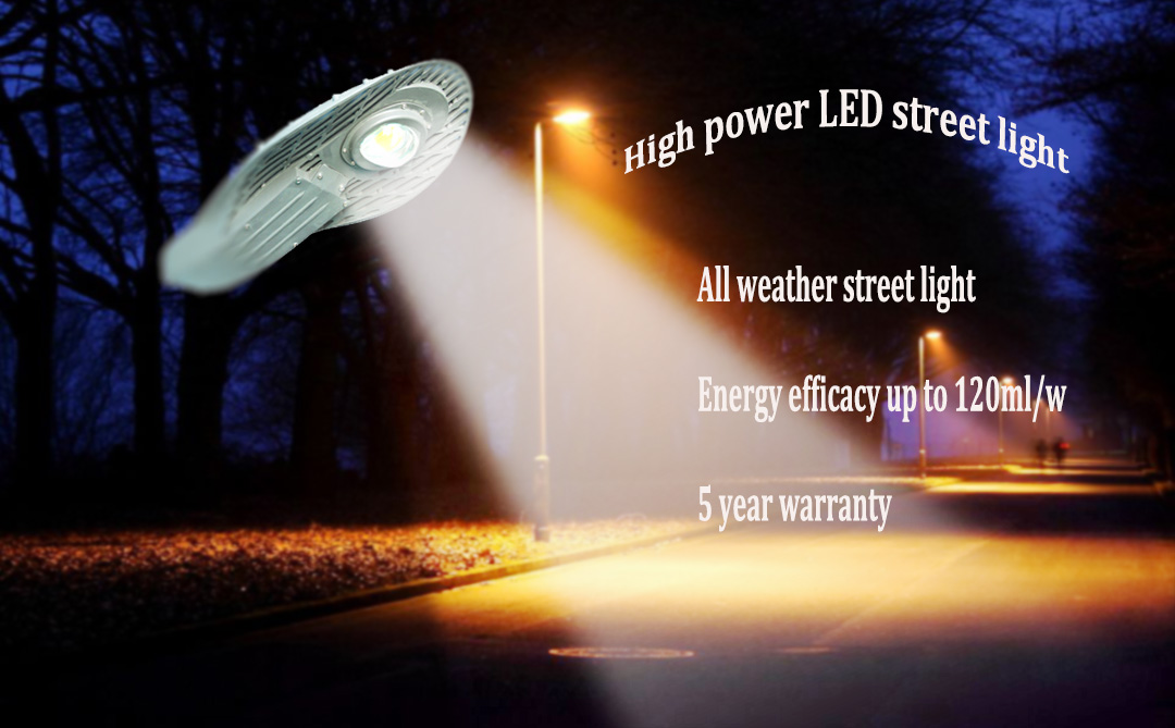 Factory direct supply 50w led street light cobra head street lamp of outdoor lighting