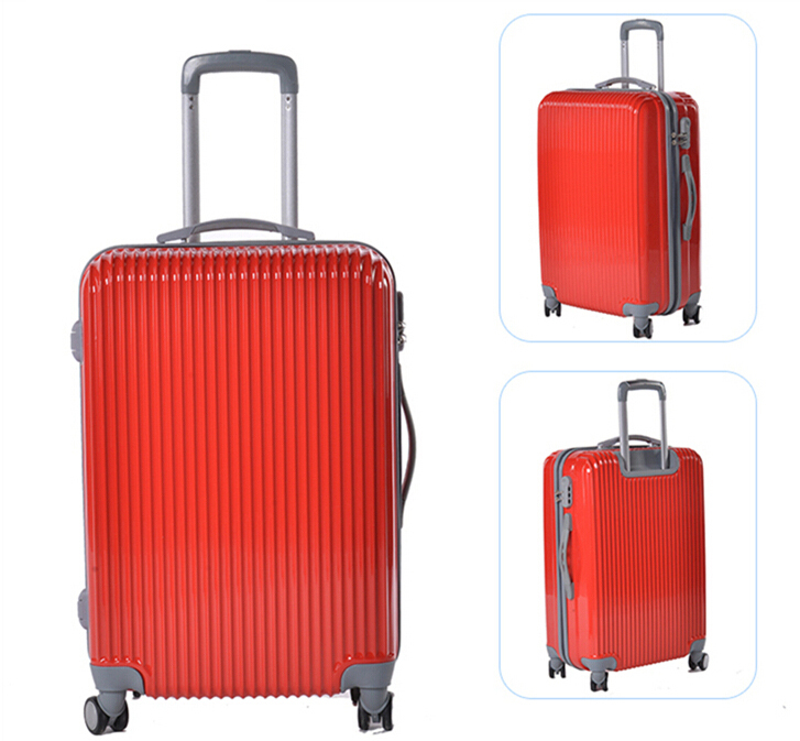 4-wheels Foldable Luggage Trolley Luggage Travel Luggage Girly ...