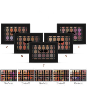 35 Colors Private label Morphe Matte Eyeshadow Palette