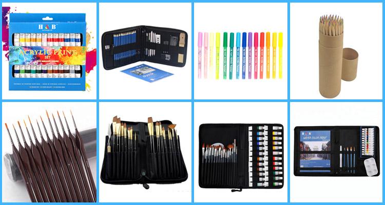 24 шт. Профессиональные цветные художественные цветные карандаши
