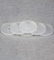 product-corrosion resistance plastic white virgin pure PTFE o ring by CNC process-DMS Seal Manufactu-6