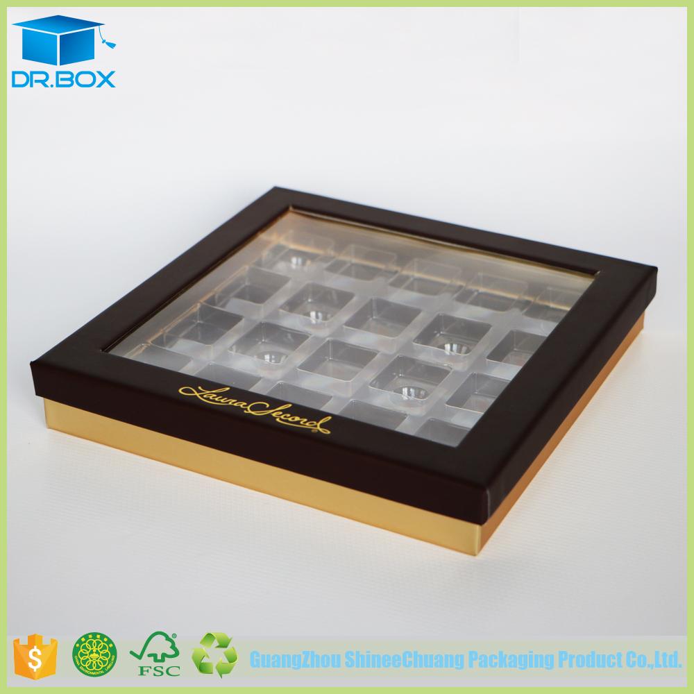 Clear Plastic Chocolate Boxes Wholesale Transparent