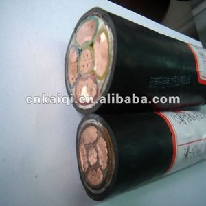 4 Cores 50 Sqm Overhead Insulated Power Cable 1 kV,10kV,35kV
