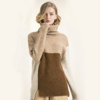 High quality womens oversize mohair sweater for winter 2019
