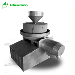 Home use small scale disc stone wheat coarse cereals stone flour mill
