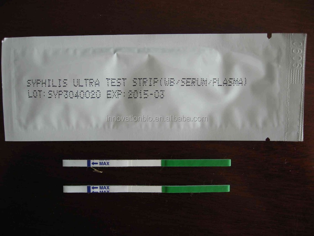 rapid STD tests one step Syphilis rapid test strip