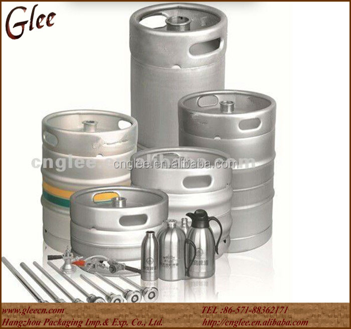 25L Used stainless steel mini beer keg for beer