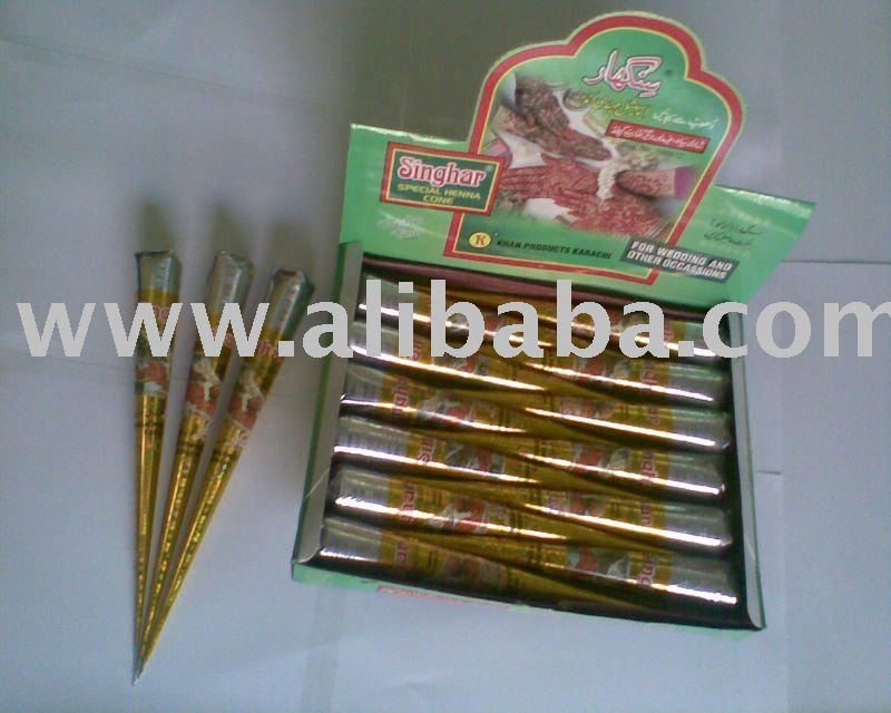 Henna Mehndi Manufacturers : Henna cones pakistan suppliers and