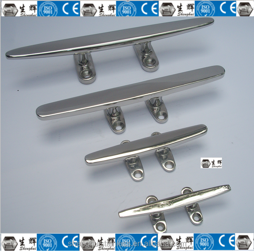 marine stainless silhouette cleat