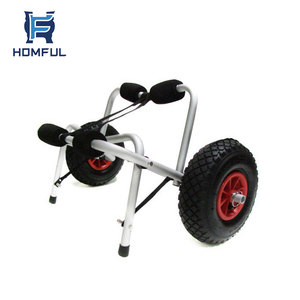 Jon Boat Carrier Cart Trolley Dolly Kayak Cart Canoe Carrier Trolley