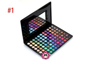 romantic color pigmented 88 color make up eye shadow palette