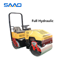 1 ton vibratory road roller fully hydraulic walking compactors for sale SYL-880