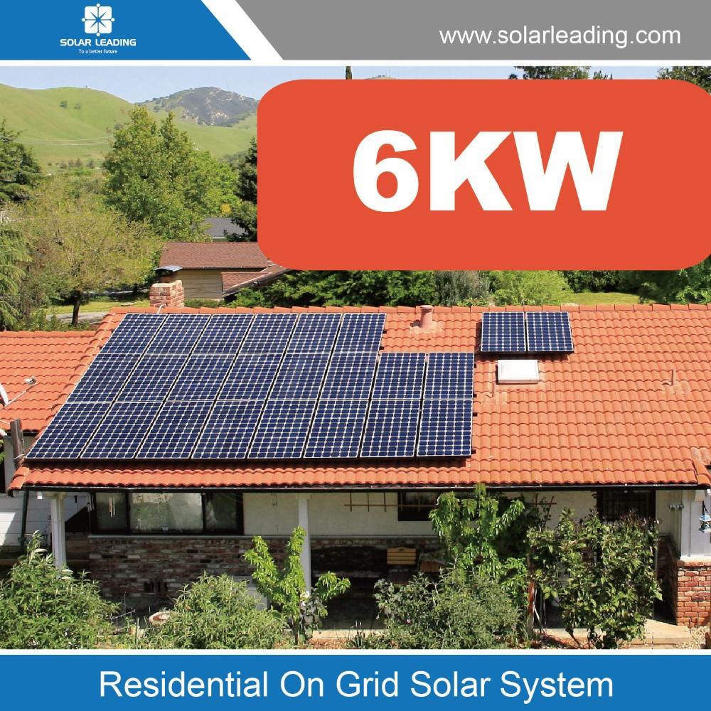 panneau solaire 6 kw
