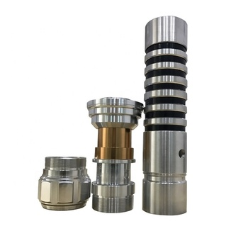 OEM anodized cnc machined aluminum parts light saber hilt manufacturer in Dongguan