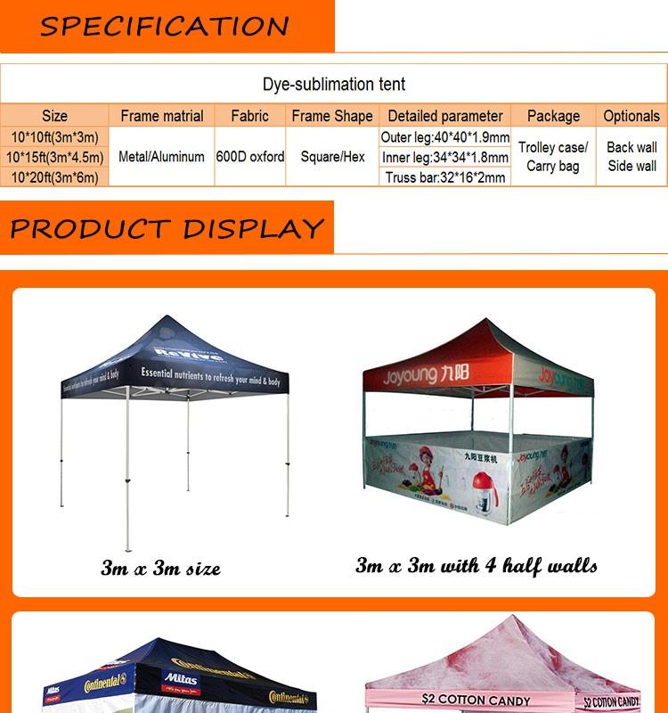 3x3 meter tentsquare pop up tentsdigital printing tent  sc 1 st  Alibaba & 3x3 Meter TentSquare Pop Up TentsDigital Printing Tent - Buy ...
